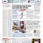 Dal 24 settembre il Corriere sarà in edicola nel formato mini